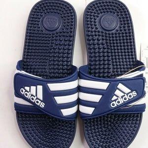 NEW adidas Adissage Slide Sandals F35579 Blue
